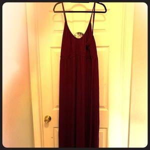 Maxi purple sun dress, XL